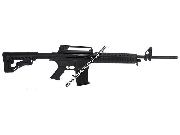 Bora Barak BR-20 20 Kalibre Şarjörlü Yarı Otomatik Av Tüfeği Siyah