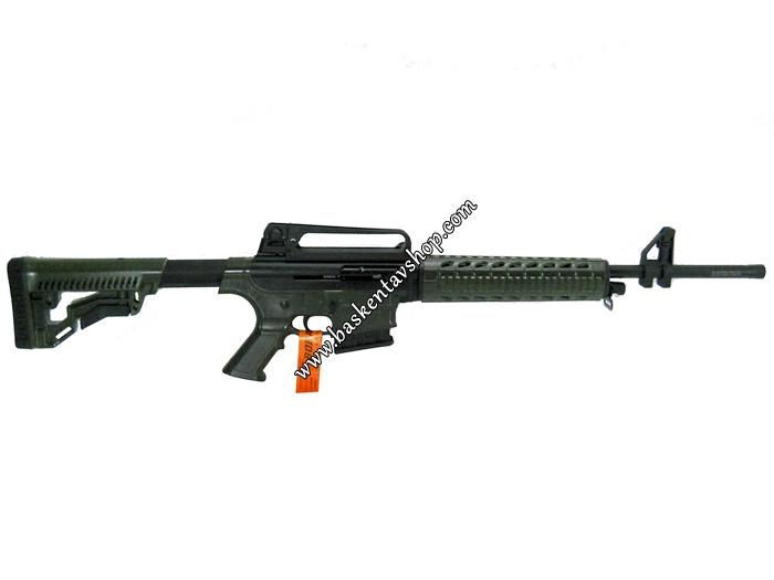 Bora Barak BR-20 20 Kalibre Şarjörlü Yarı Otomatik Av Tüfeği Haki