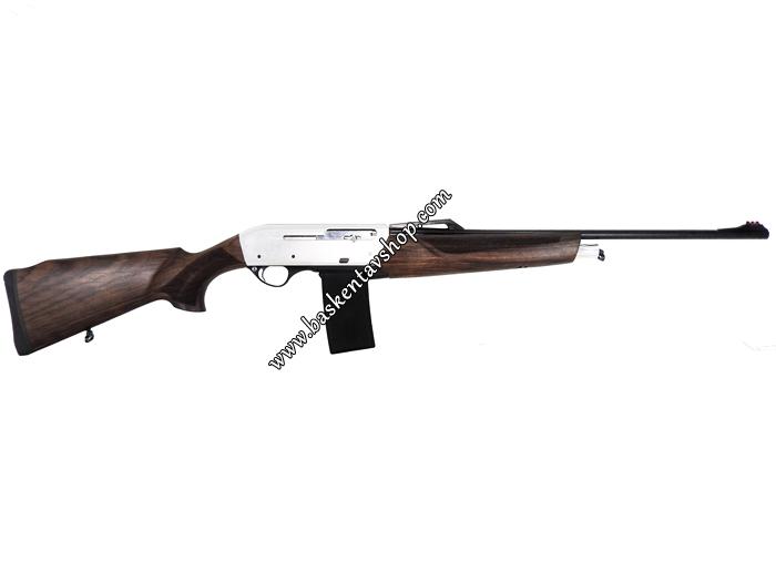 Kariyer 36 Cal. Şarjörlü Y.Otomatik Av Tüfeği Beyaz