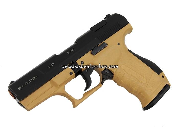 Baredda Z88 9mm Kurusıkı Tabanca Çöl-av12525