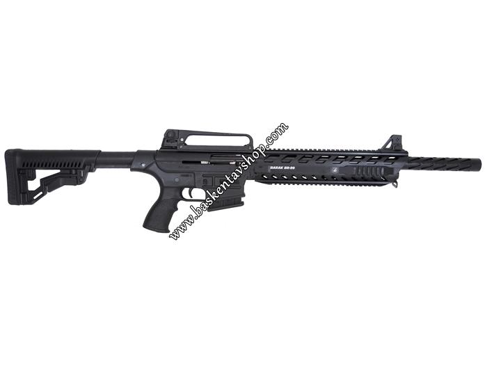 Bora Barak BR-99 Şarjörlü Yarı Otomatik Av Tüfeği Giydirmeli