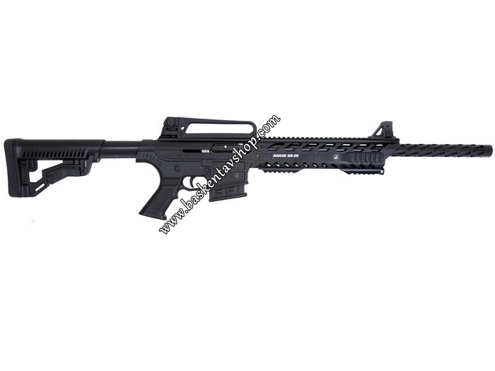 Bora Barak BR-20 Şarjörlü Yarı Otomatik Av Tüfeği Giydirmeli
