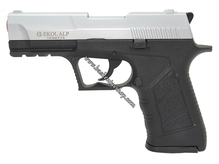 Ekol Alp 9mm 14+1 Kurusıkı Tabanca Mat Krom-av12689