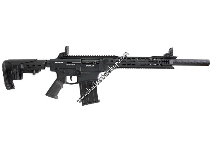 Derya MK-12 AS-100 Şarjörlü Yarı Otomatik Av Tüfeği