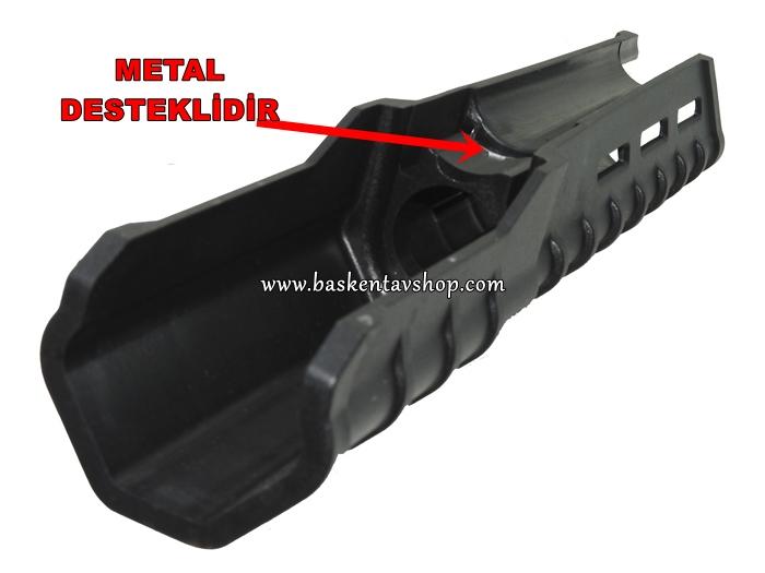 Pompalı Tüfek için Metal Destekli Uzun El Kundağı-av12927