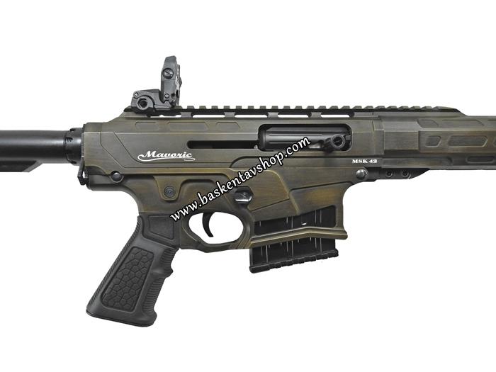 Mavoric MSK-42 Şarjörlü Haki Kamuflaj Yarı Otomatik Av Tüfeği-av13030