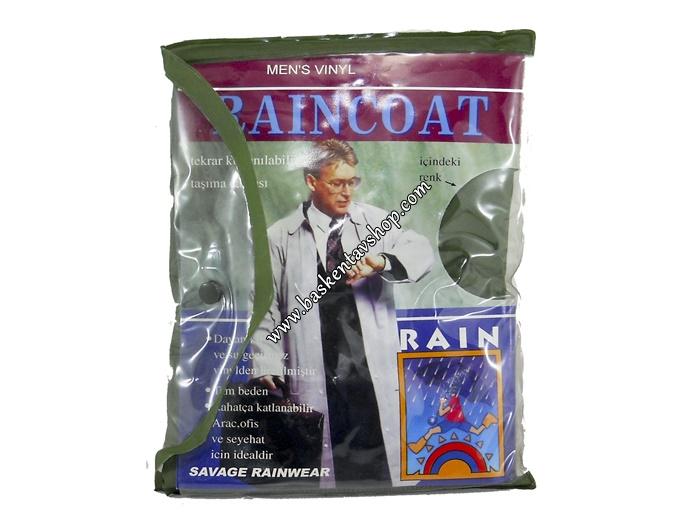 Savage Raıncoat Pardesü Yağmurluk-av12027