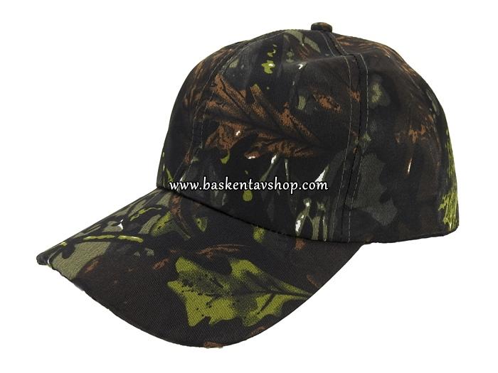 Kamuflaj Avcı Şapkası-av13155